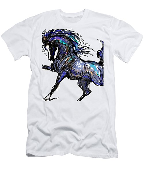 Arabian In Blue Men's T-Shirt (Athletic Fit)