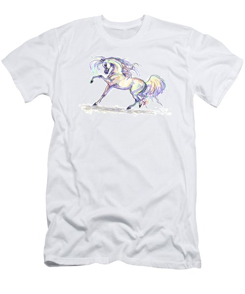 Arabian Stallion Talk Men's T-Shirt (Athletic Fit)