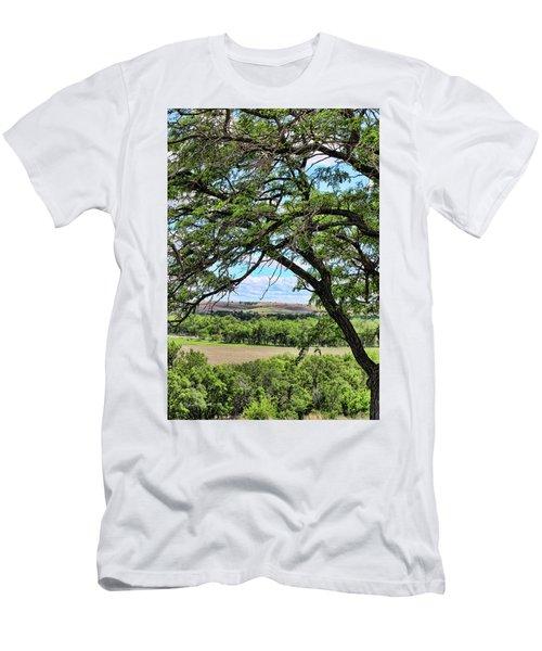 Arbor Vista Men's T-Shirt (Slim Fit) by Sylvia Thornton