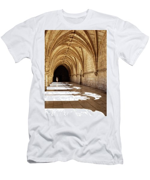 Arches Of Jeronimos Men's T-Shirt (Slim Fit) by Marion McCristall