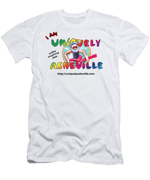 Are You Uniquely Asheville Men's T-Shirt (Athletic Fit)