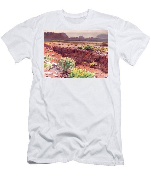 Arizona Arroyo Men's T-Shirt (Slim Fit) by Donald Maier