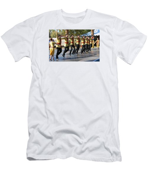 Armenian Dancers 3 Men's T-Shirt (Athletic Fit)