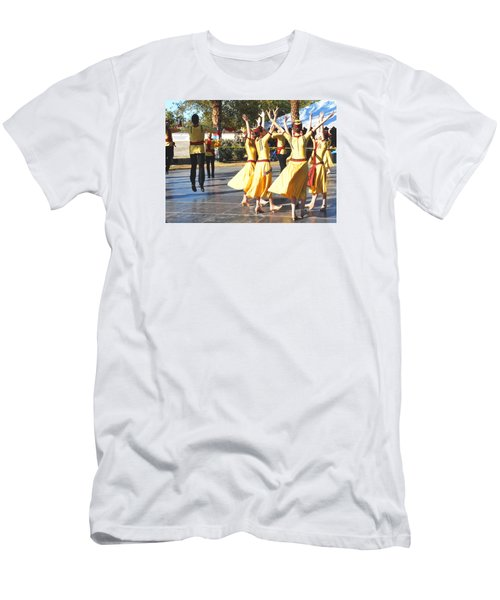 Armenian Dancers 4 Men's T-Shirt (Athletic Fit)