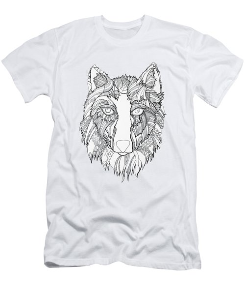 Arnou The Wolf Men's T-Shirt (Slim Fit)