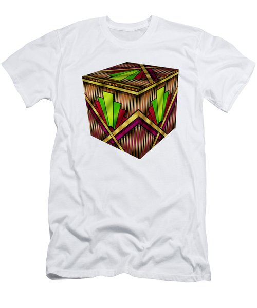 Art Deco 13 Cube Men's T-Shirt (Athletic Fit)