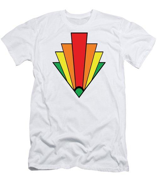 Art Deco Chevron Men's T-Shirt (Athletic Fit)