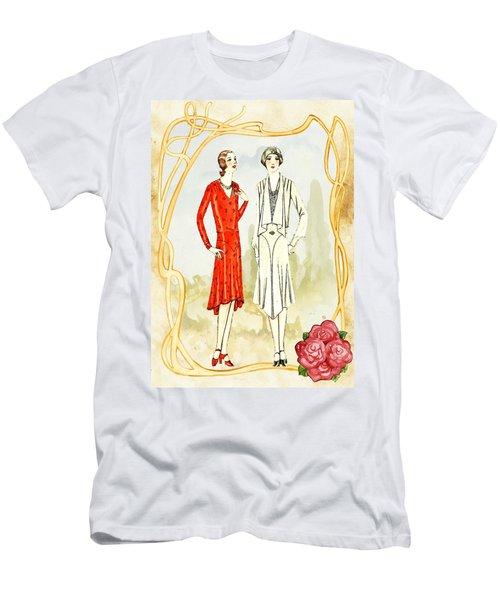 Art Deco Fashion Girls Men's T-Shirt (Athletic Fit)