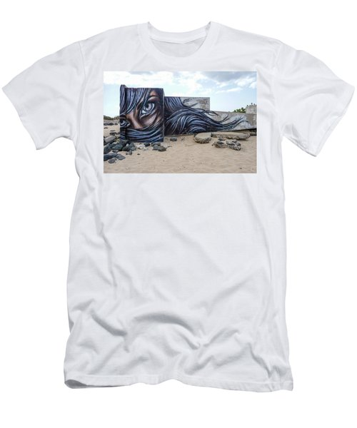 Art Or Graffiti Men's T-Shirt (Athletic Fit)