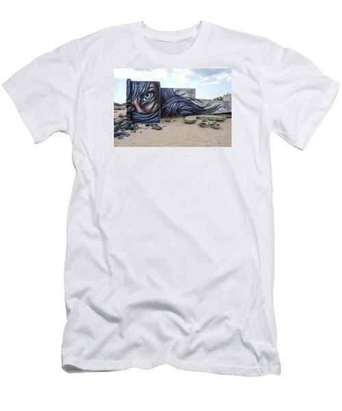 Art Or Graffiti Men's T-Shirt (Athletic Fit)
