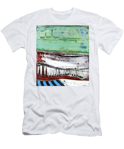 Art Print Abstract 97 Men's T-Shirt (Athletic Fit)
