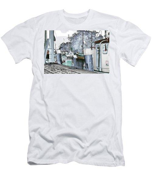 Art Print Boat 2 Men's T-Shirt (Athletic Fit)