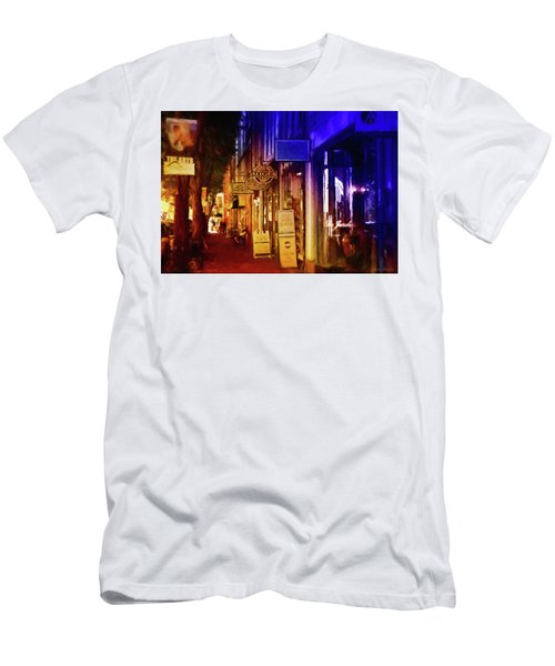 Art Row - Fredericksburg, Virginia Men's T-Shirt (Slim Fit) by Glenn Gemmell
