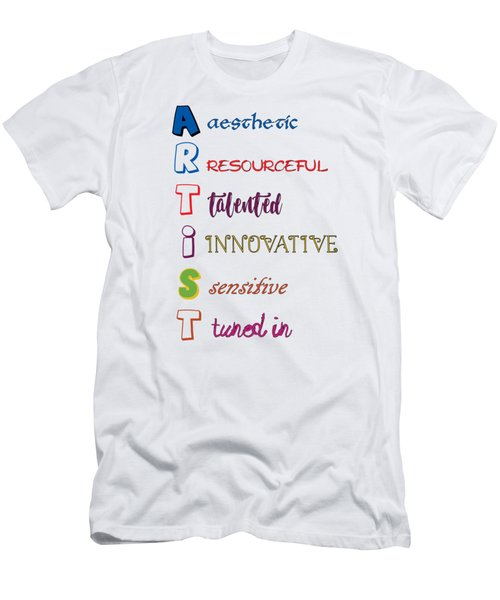 Artist Analogy Men's T-Shirt (Athletic Fit)