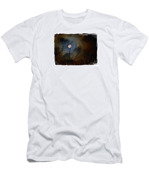 Artsy Moon Men's T-Shirt (Slim Fit) by Lila Fisher-Wenzel