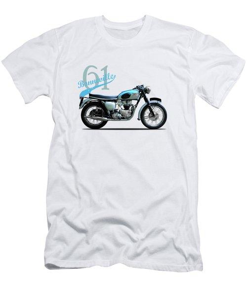 Triumph Bonneville Men's T-Shirt (Slim Fit) by Mark Rogan