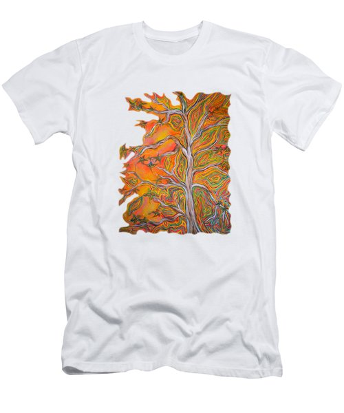Nature's Energy Men's T-Shirt (Slim Fit) by Deborha Kerr