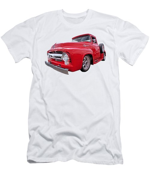 Red F-100 Men's T-Shirt (Athletic Fit)