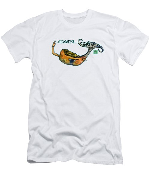 Mermaid Men's T-Shirt (Slim Fit) by W Gilroy