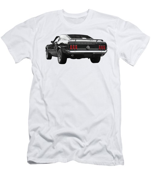 Rear Of The Year - '69 Mustang Men's T-Shirt (Athletic Fit)