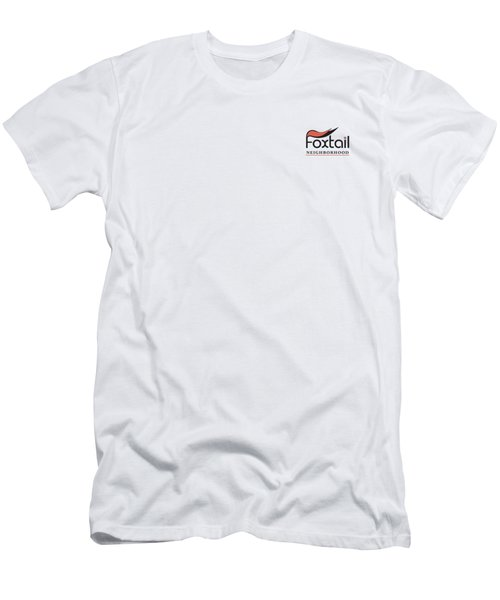 Foxtail Logo Men's T-Shirt (Athletic Fit)