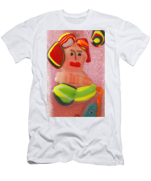 Picasso's Lady  Men's T-Shirt (Athletic Fit)