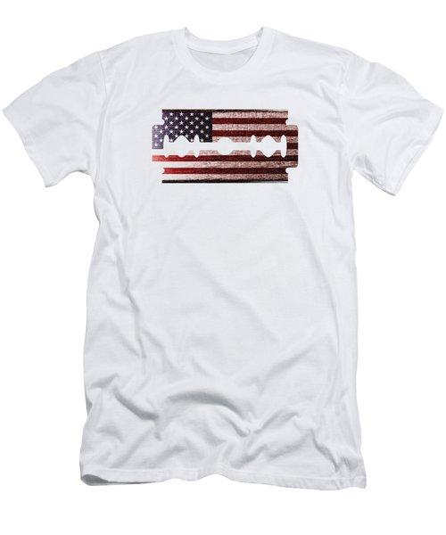 American Razor Men's T-Shirt (Athletic Fit)