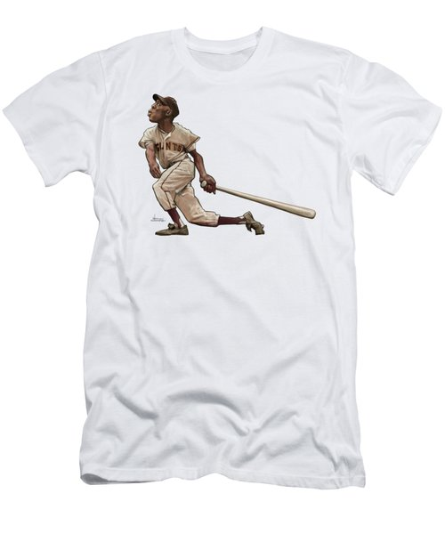 Say Hey Willie Men's T-Shirt (Athletic Fit)