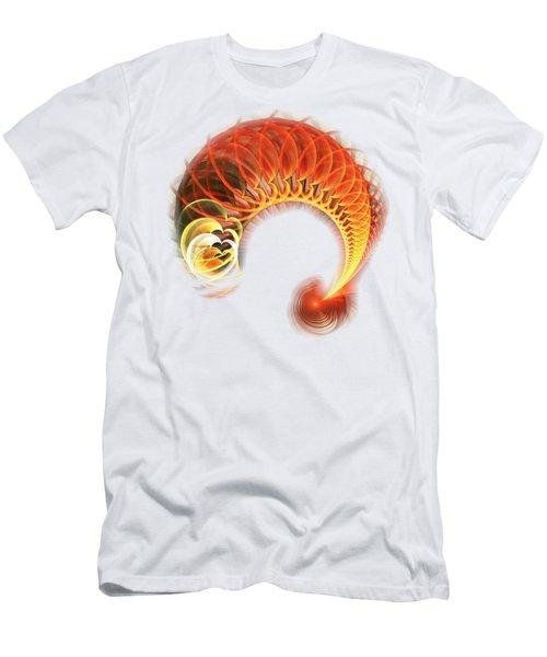 Heart Wave Men's T-Shirt (Athletic Fit)