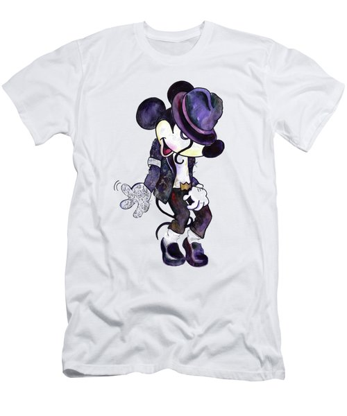 Mickey Mouse-michael Jackson Men's T-Shirt (Athletic Fit)