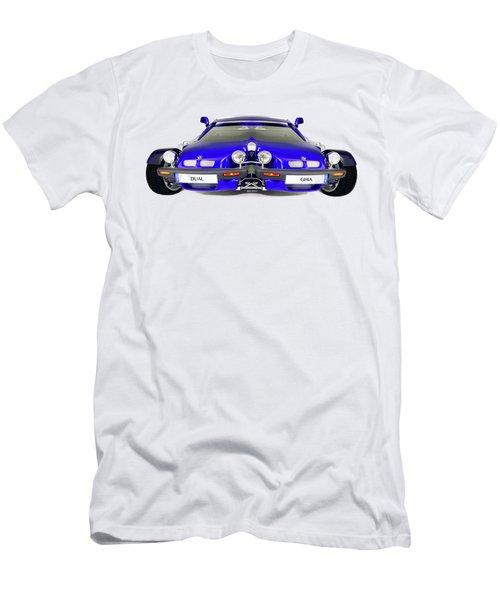 Dual Ghia Men's T-Shirt (Slim Fit) by Rafael Salazar