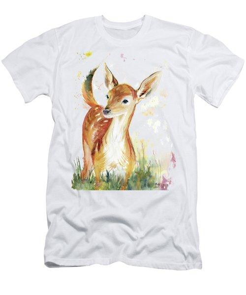 Little Deer Men's T-Shirt (Slim Fit) by Melly Terpening