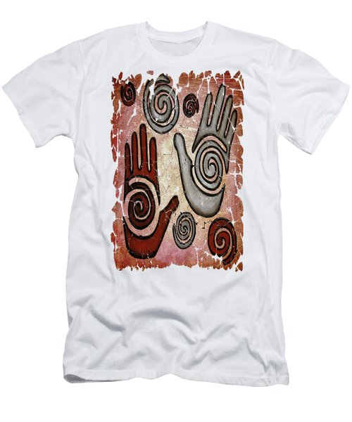 Healing Hands Fresco Men's T-Shirt (Athletic Fit)