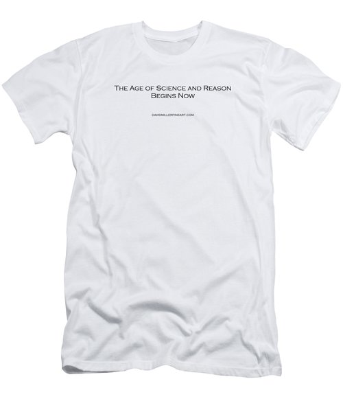 Science And Reason Men's T-Shirt (Slim Fit) by David Miller