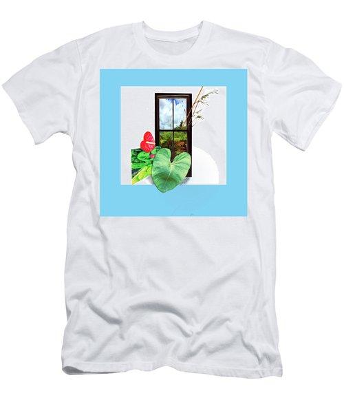 Anthurium Men's T-Shirt (Athletic Fit)