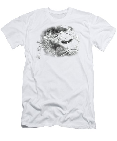 Big Gorilla Men's T-Shirt (Slim Fit) by iMia dEsigN