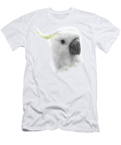 Three Cockatoos Men's T-Shirt (Slim Fit) by iMia dEsigN