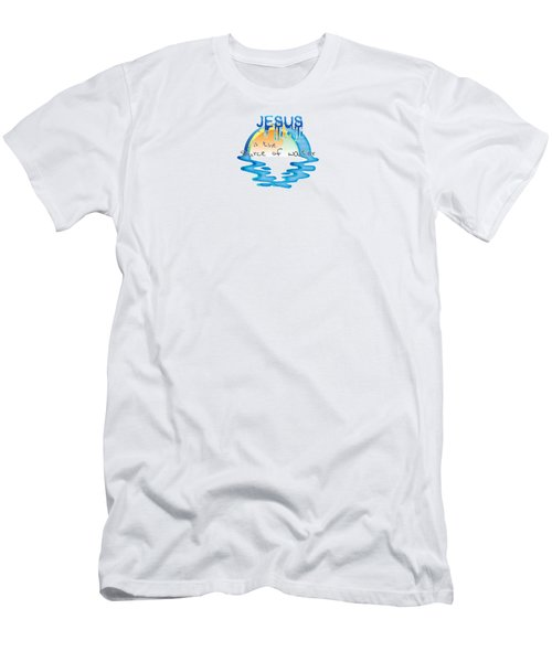 Source Of Water Men's T-Shirt (Athletic Fit)