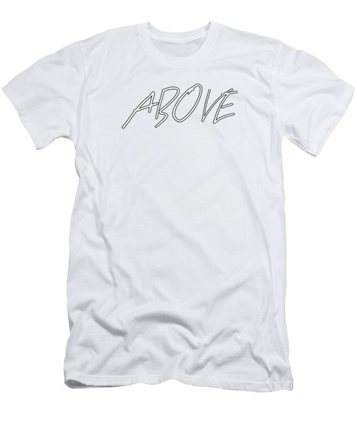 Above 1 Peter 4 Men's T-Shirt (Athletic Fit)