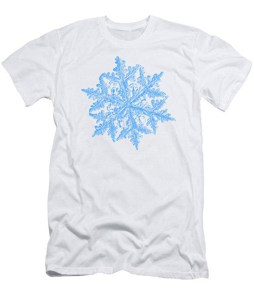 Snowflake Vector - 2017-02-13_3 White Men's T-Shirt (Athletic Fit)
