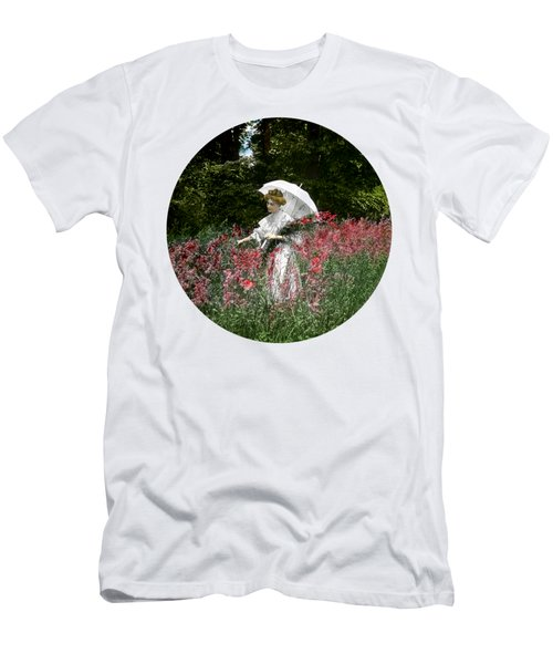 1900 Gathering Wild Flowers Men's T-Shirt (Athletic Fit)