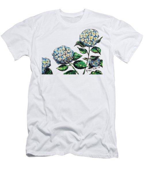 Hydrangeas Men's T-Shirt (Athletic Fit)