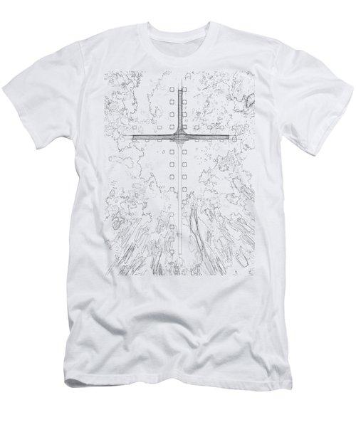 Sky Men's T-Shirt (Athletic Fit)