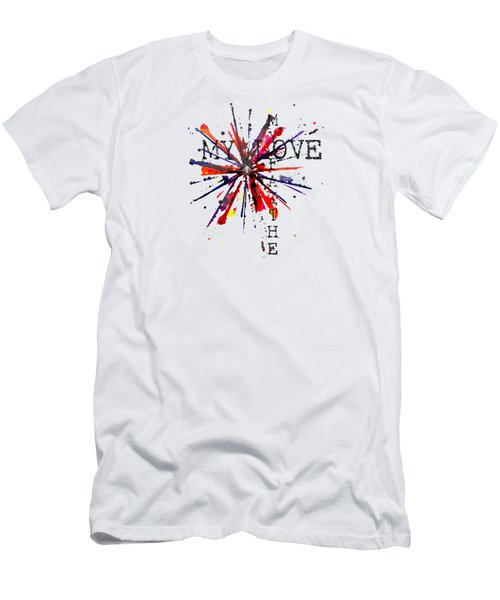 My Faith My Love Men's T-Shirt (Athletic Fit)
