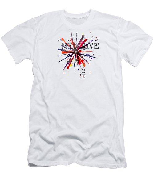 My Faith My Love Men's T-Shirt (Athletic Fit)