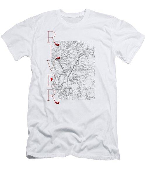 Joy River Men's T-Shirt (Athletic Fit)