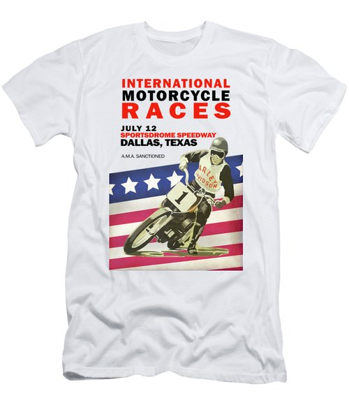International Motorcycle Races Dallas Men's T-Shirt (Athletic Fit)