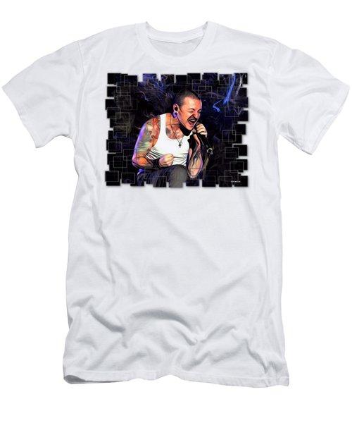 Chester Bennington From Linkin Park  Men's T-Shirt (Athletic Fit)