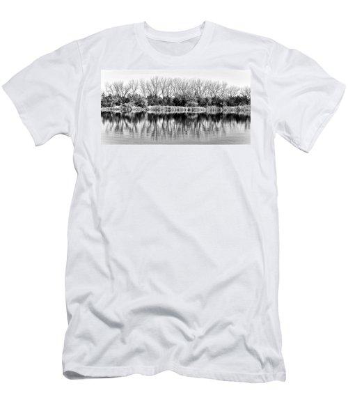 Rippled Reflection Men's T-Shirt (Slim Fit) by Bill Kesler
