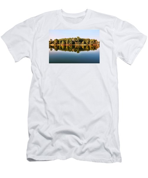 When Nature Reflects Men's T-Shirt (Slim Fit) by Bill Kesler